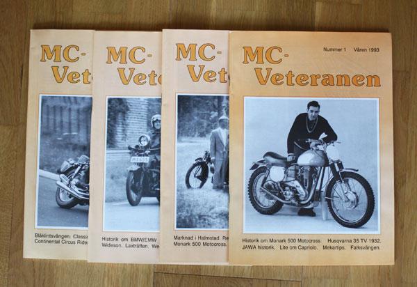 4st Mc veteranen årgång 1993 (komplett)