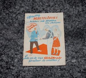 Broschyr - Ofrivilligt Arbetslös