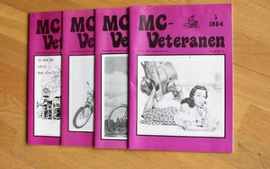 4st Mc veteranen årgång 1984 (komplett)
