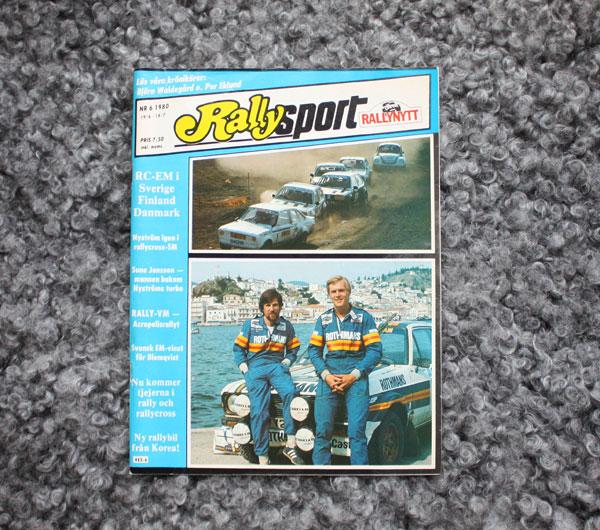 Rallysport nr 6/1980