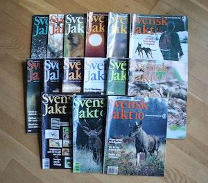 15 st Svensk Jakt 1992, 1997, 1998