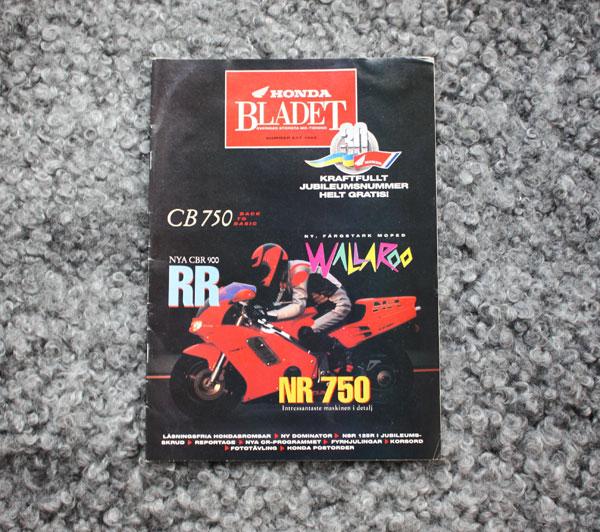 Honda bladet nr 1/1992