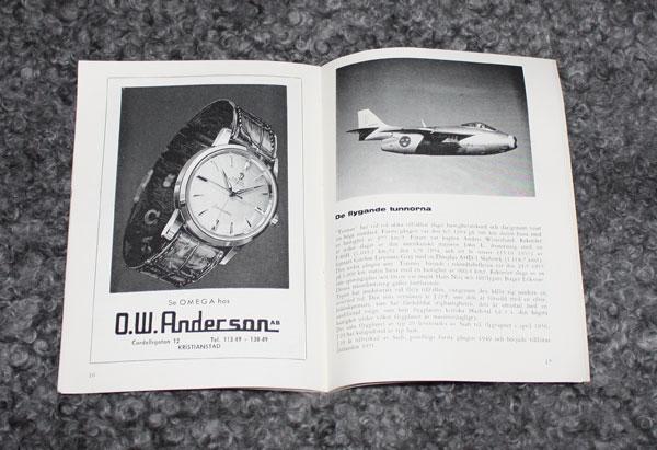 Broschyr från Lions Jet-flygdag, Kristianstad Everöd 1961