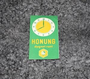 Reklamblad Honung - Sveriges biodlare (50talet)