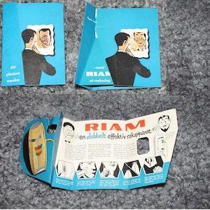 Reklam för Riam El-rakning