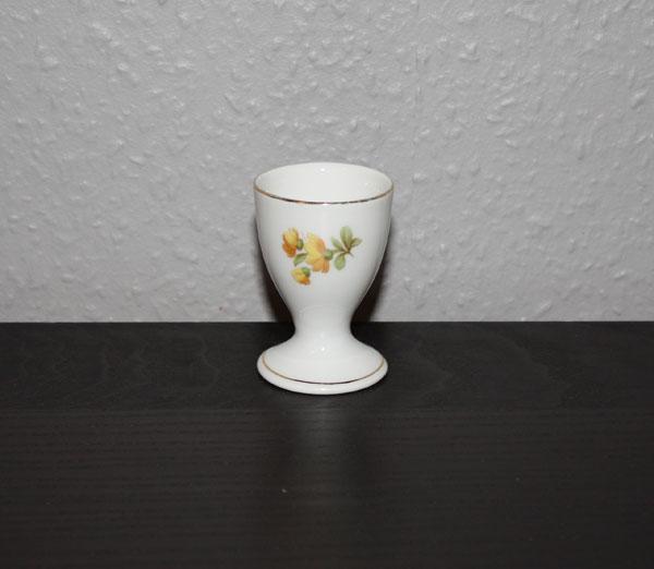 äggkopp med blommor från KPM