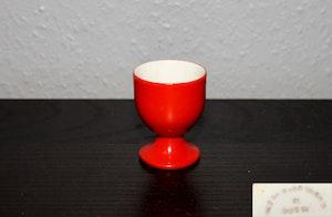 Äggkopp Röd - signerad