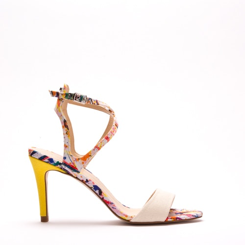 PALME multi-coloured sandal in recycled polyester