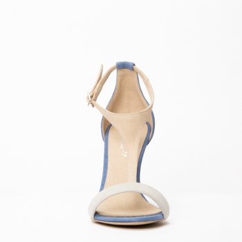 JENNA T-strap in microsuede
