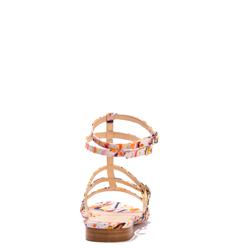 PLAGE multi-coloured sandal in recycled polyester