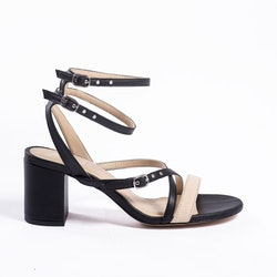 ZORAG Block heel in plantleather