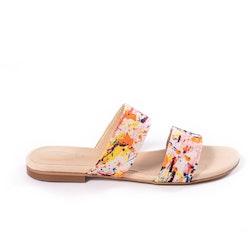 EMMA Printed slip-in sandal.