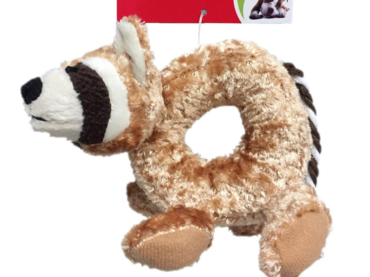 Dogman plyschdjur med pipljud