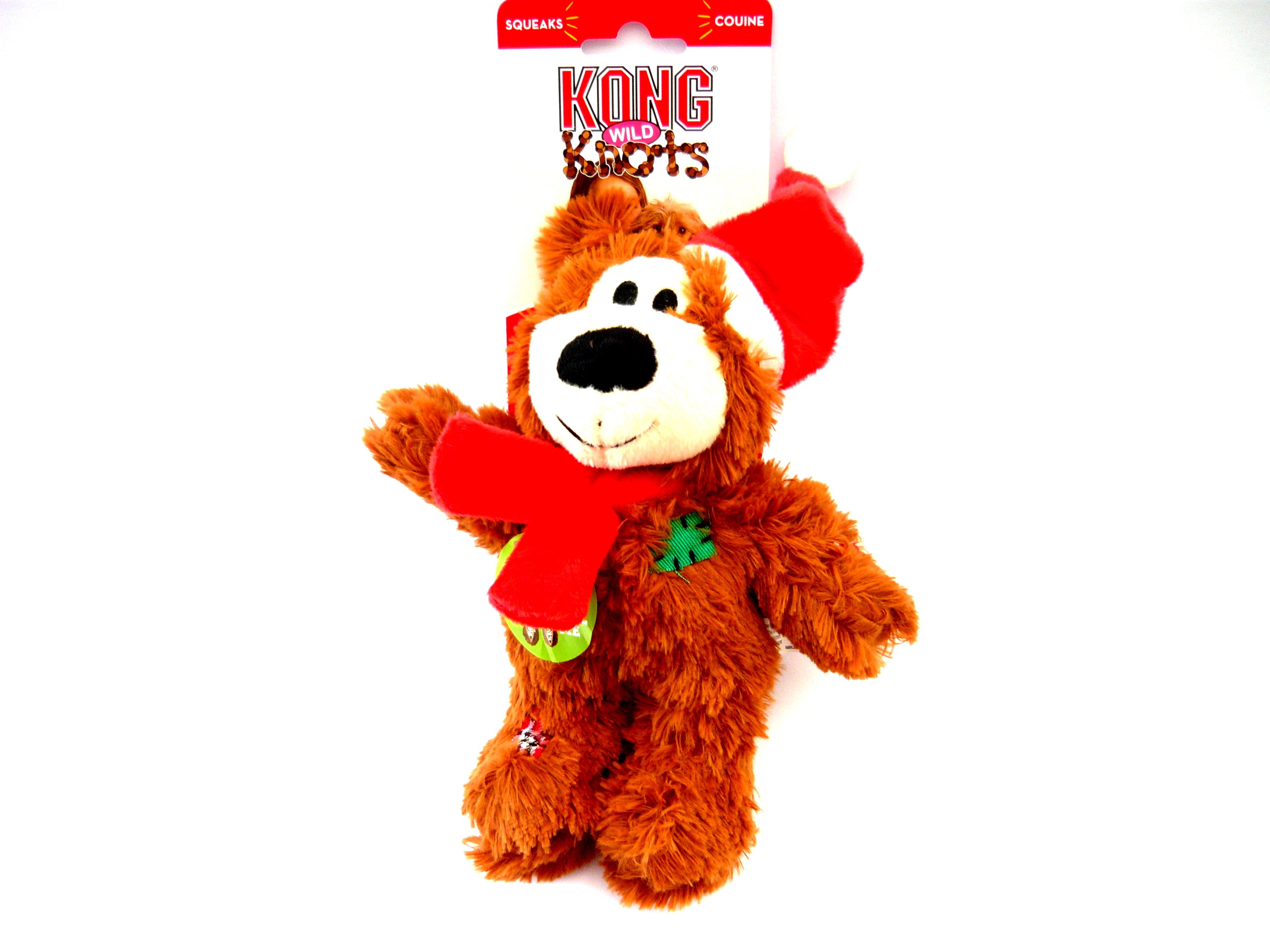 Kong Holiday Wild Knots Bear