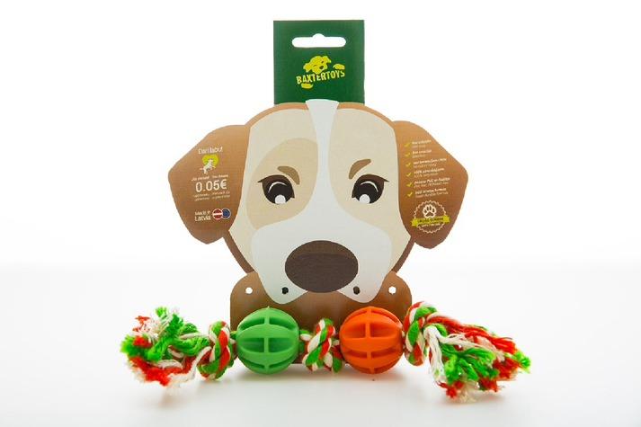 Baxter Toys Repleksak med bollar