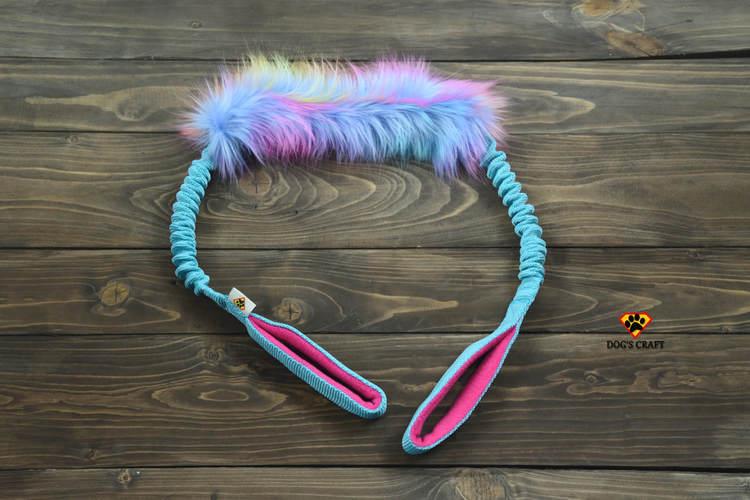 Dog's Craft Unicorn fur krab turkos