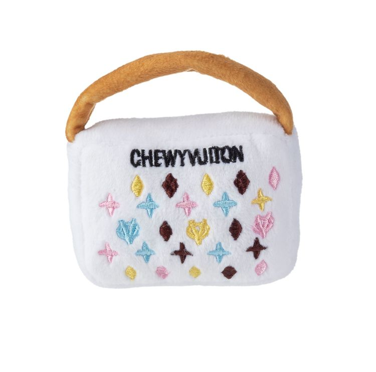 Haute Diggity Dog, White Chewy Vuiton handbag