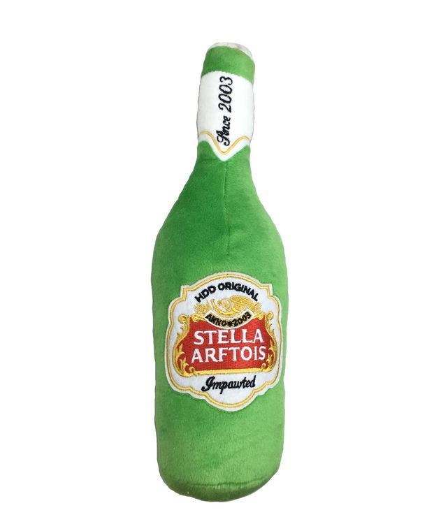 Haute Diggity Dog, Stella Arftois Beer Bottle