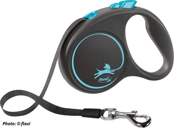 Flexi Black design, band, blå