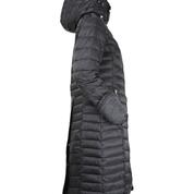 Nordic Jet Black, lång kappa