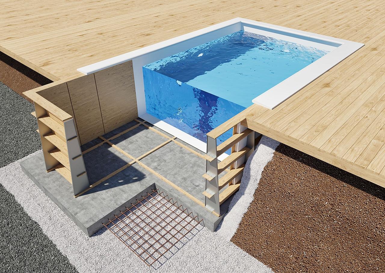 Träpool - Karlstad Poolcenter