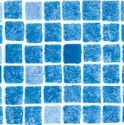 Pooliner 4x8x1,5 med gaveltrappa