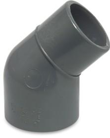 Koppling 45 böj - 50-40mm lim