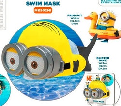 Swim mask minions
