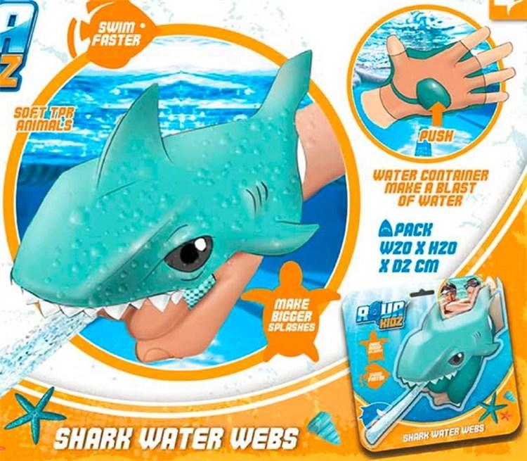Water webs shark