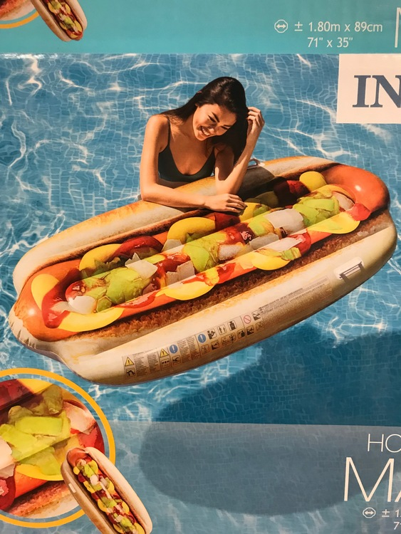 Hotdog mat