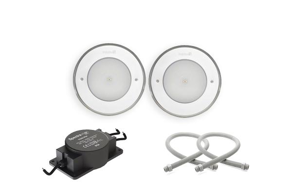 Belysningspaket Bas 170VS Vit LED
