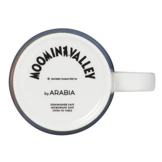 "Arabia Muminmugg Moominvalley ""Ensam hemma"""