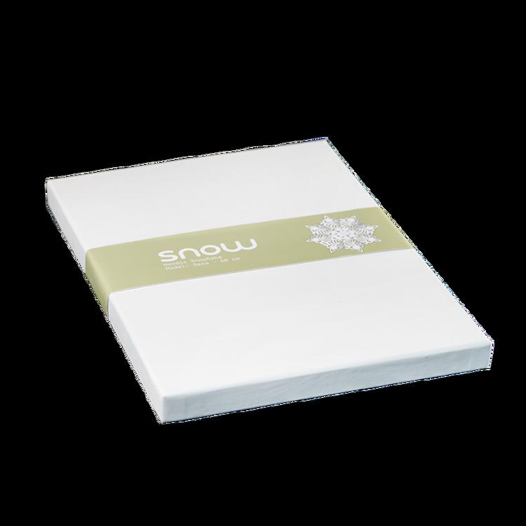 Snowflake julstjärna Astrid 45 vit
