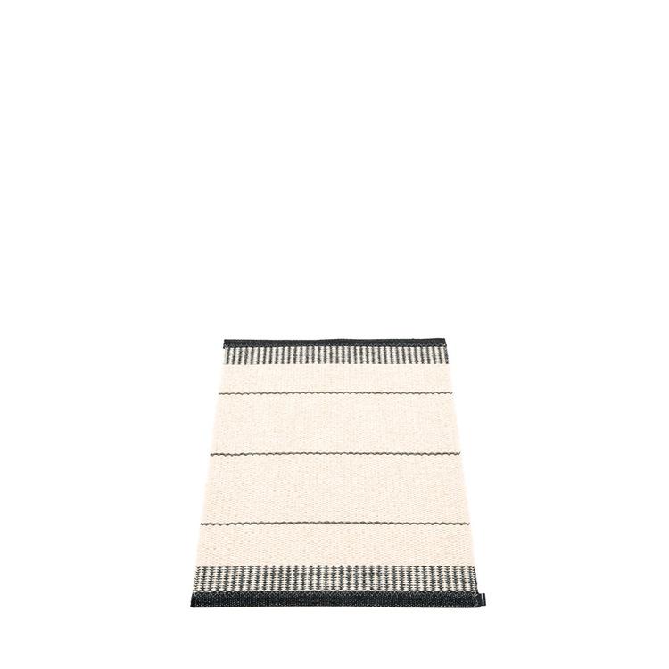 Pappelina matta Belle Black 60x85 cm