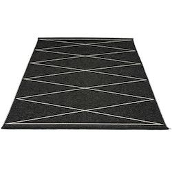 Pappelina matta Max Black · Vanilla 180x260 cm