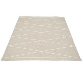 Pappelina matta Max Linen · Vanilla 180x260 cm
