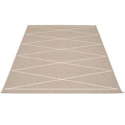 Pappelina matta Max Mud · Vanilla 180x260 cm