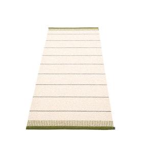 Pappelina matta Belle Dark olive 85x200 cm