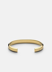 Skultuna Icon cuff armband guld medium