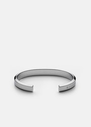Skultuna Icon Cuff armband polerat stål large