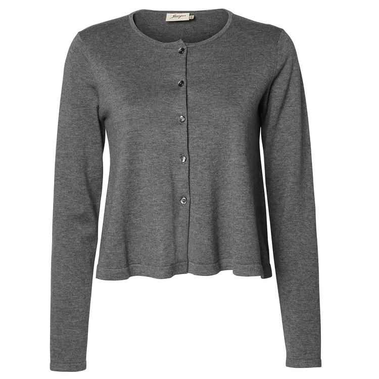Jumperfabriken Camilla cardigan grey
