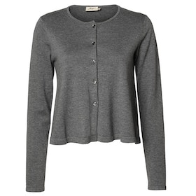 Jumperfabriken Camilla cardigan grey