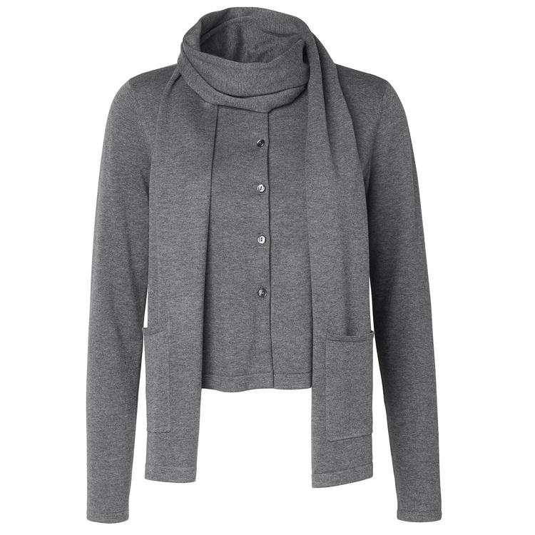 Jumperfabriken Winona scarf grey