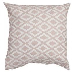 Klippan Yllefabrik Diamond kuddfodral rosa