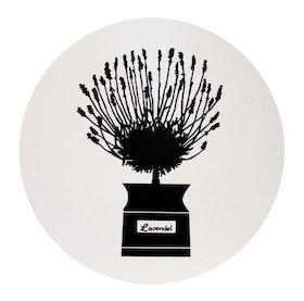 Almedahls Persons kryddskåp grytunderlägg svart
