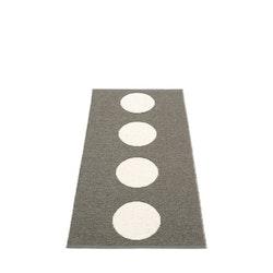 Pappelina matta Vera charcoal · vanilla 70x150 cm