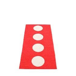 Pappelina matta Vera Red· Vanilla 70x150 cm