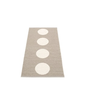 Pappelina matta Vera mud · vanilla 70x150 cm