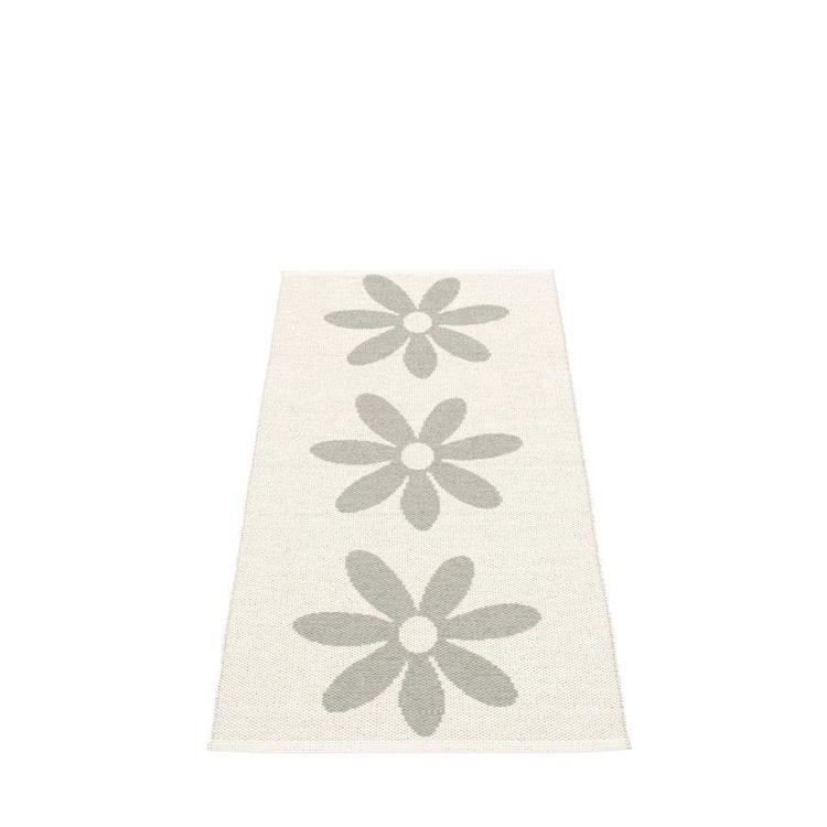 Pappelina matta Lilo warm grey · vanilla 70x150 cm