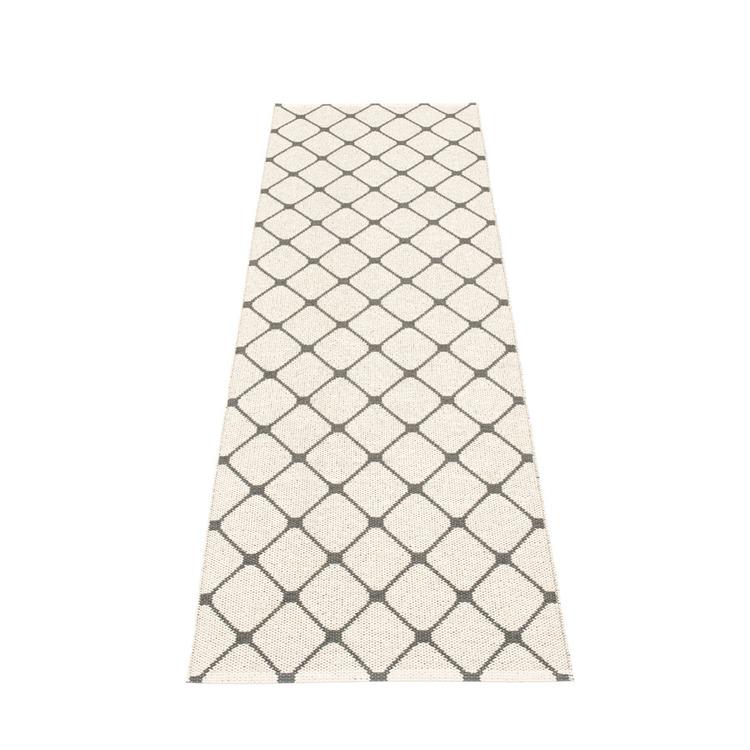 Pappelina matta Rex charcoal 70x240 cm